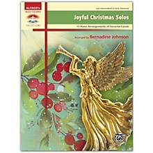 Alfred Joyful Christmas Solos Book Late Intermediate / Early Advanced