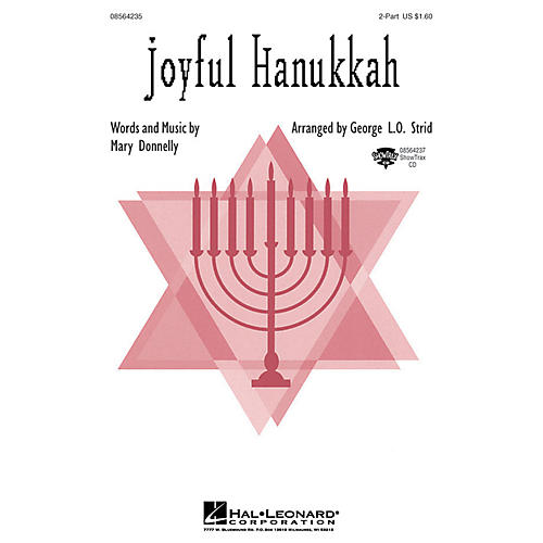Hal Leonard Joyful Hanukkah ShowTrax CD Arranged by George L.O. Strid