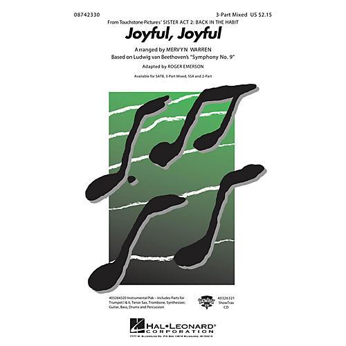 Hal Leonard Joyful, Joyful (from Sister Act 2) 3-Part Mixed arranged by Roger Emerson