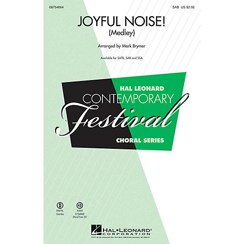 Hal Leonard Joyful Noise (Medley) SAB arranged by Mark Brymer