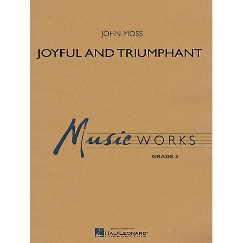 Hal Leonard Joyful and Triumphant Concert Band Level 3