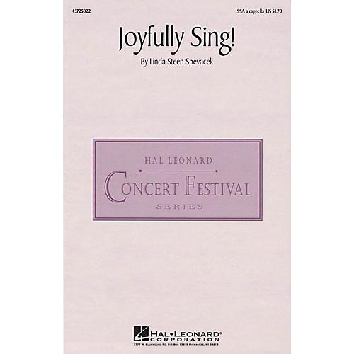 Hal Leonard Joyfully Sing! SSA A Cappella composed by Linda Spevacek
