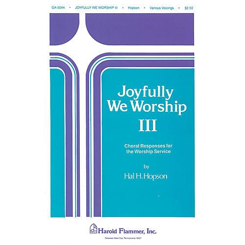 Shawnee Press Joyfully We Worship - Volume 3 SATB
