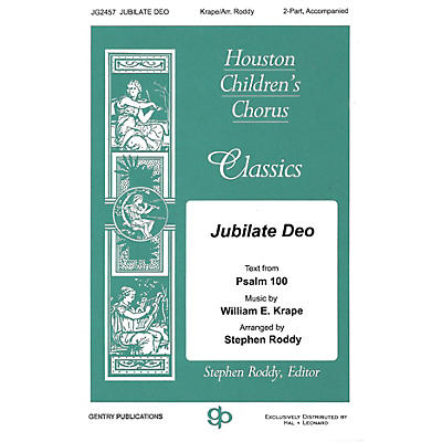 Gentry Publications Jubilate Deo 2-Part arranged by Stephen Roddy