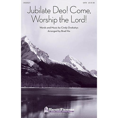 Shawnee Press Jubilate Deo! Come Worship the Lord! SATB arranged by Brad Nix