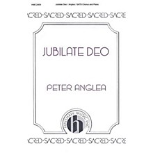 Hinshaw Music Jubilate Deo SATB composed by Peter Anglea