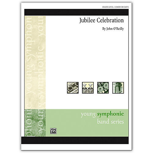Alfred Jubilee Celebration Concert Band Grade 2 Set