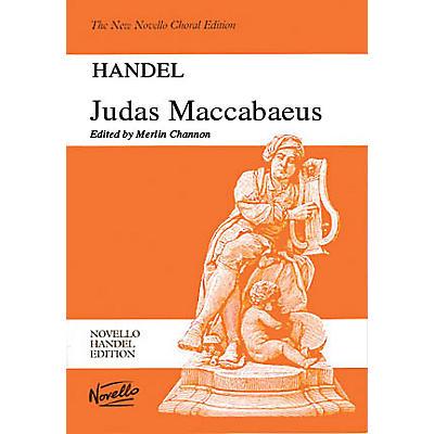 Novello Judas Maccabaeus SATB Score Composed by Georg Friedrich Händel