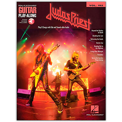 Hal Leonard Judas Priest Guitar Play-Along Series Softcover Audio Online Performed by Judas Priest