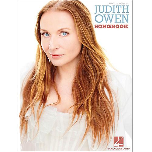 Hal Leonard Judith Owen Songbook arranged for piano, vocal, and guitar (P/V/G)