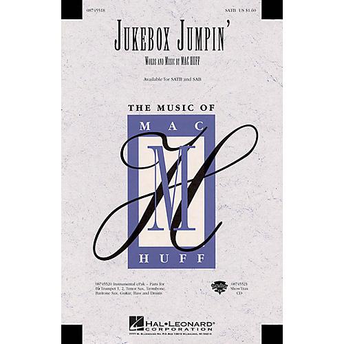 Hal Leonard Jukebox Jumpin' ShowTrax CD Composed by Mac Huff