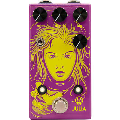 Walrus Audio Julia Limited-Edition Neon Chorus/Vibrato Effects Pedal