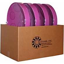 Jumbie Jam Educator's Steel Drum 4-Pack with Table Top Stands Purple