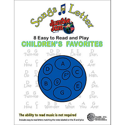 Panyard Jumbie Jam Songs by Letter Song Book - Childrens