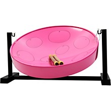 Jumbie Jam Steel Drum Kit with Table Top Stand Pink