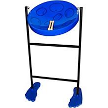 Jumbie Jam Steel Drum Kit with Tube Floor Stand Blue