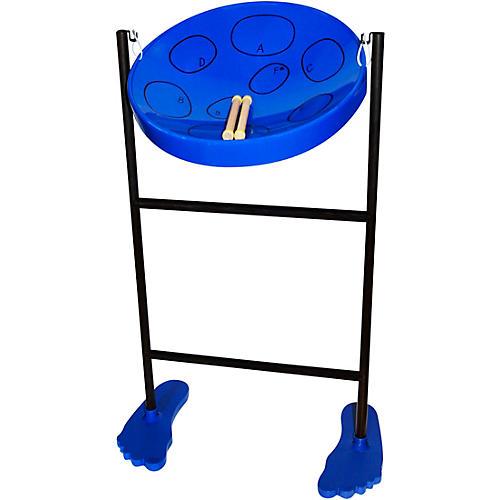 Panyard Jumbie Jam Steel Drum Kit with Tube Floor Stand Condition 2 - Blemished Blue 194744417047
