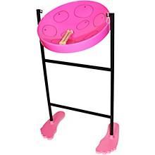 Jumbie Jam Steel Drum Kit with Tube Floor Stand Pink
