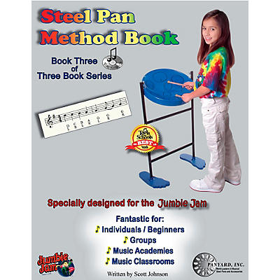 Panyard Jumbie Jam Steel Pan Method Book 3