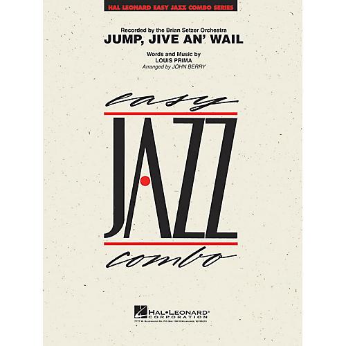 Hal Leonard Jump, Jive An' Wail Jazz Band Level 2 Arranged by John Berry