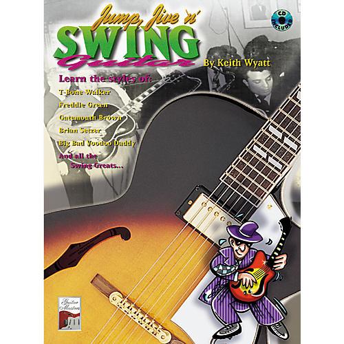 Alfred Jump Jive N Swing Guitar Book w/ CD