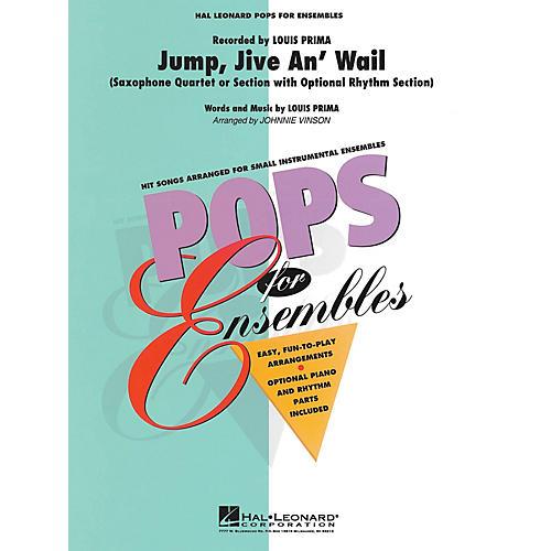 Hal Leonard Jump, Jive an' Wail Concert Band Level 2.5 Arranged by Johnnie Vinson