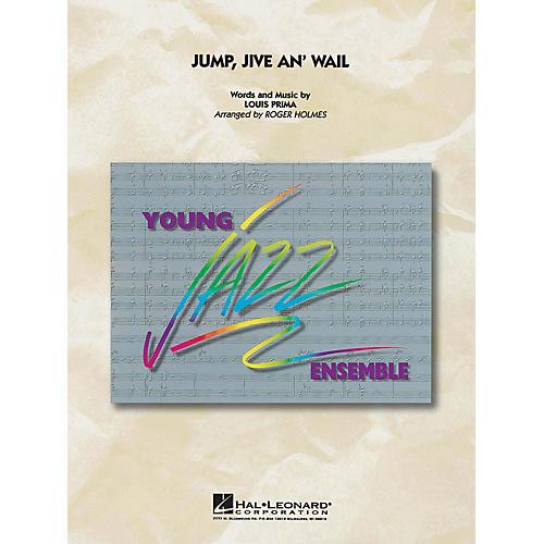 Hal Leonard Jump, Jive an' Wail Jazz Band Level 3 by Brian Setzer Orchestra Arranged by Roger Holmes