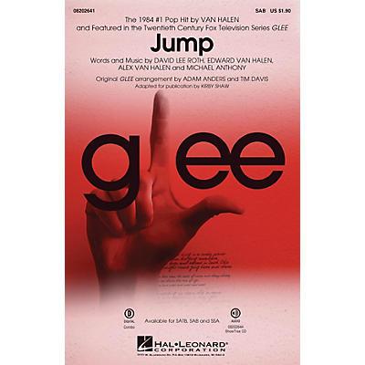 Hal Leonard Jump (from Glee) SAB by Van Halen arranged by Adam Anders