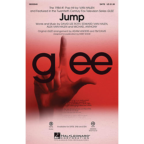 Hal Leonard Jump (from Glee) SATB by Van Halen arranged by Adam Anders