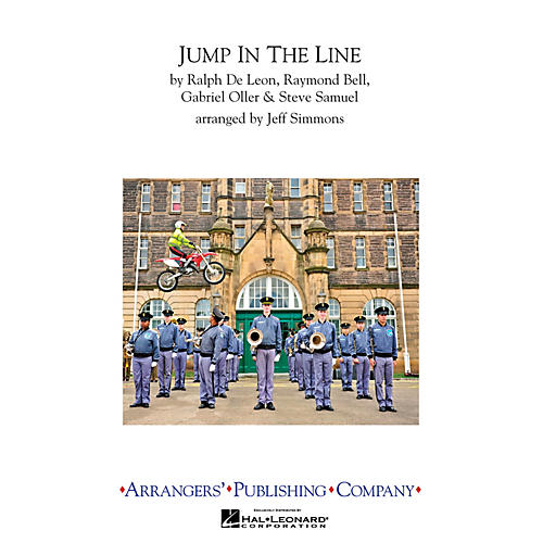 Arrangers Jump in the Line Marching Band Level 3 Arranged by Jeff Simmons