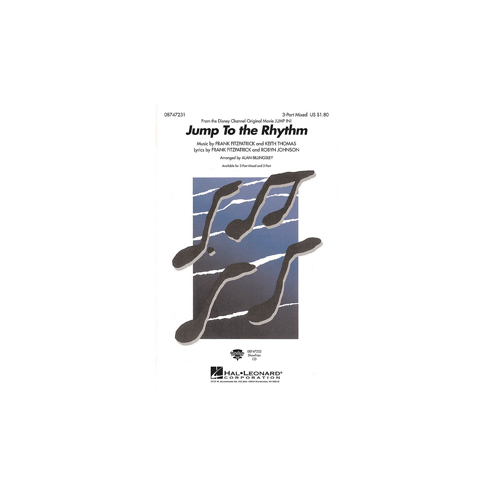 Hal Leonard Jump to the Rhythm (from Jump In) 3-Part Mixed arranged by Alan Billingsley