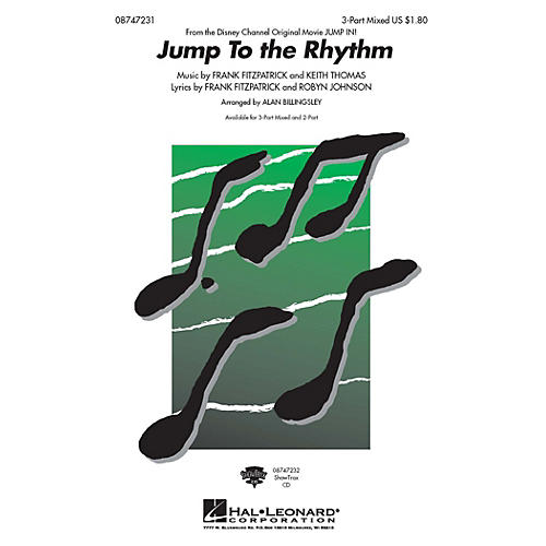 Hal Leonard Jump to the Rhythm (from Jump In) ShowTrax CD Arranged by Alan Billingsley