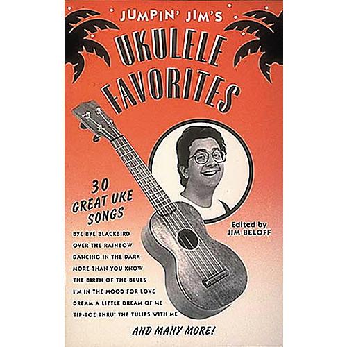 Hal Leonard Jumpin' Jim's Ukulele Favorites Tab Songbook