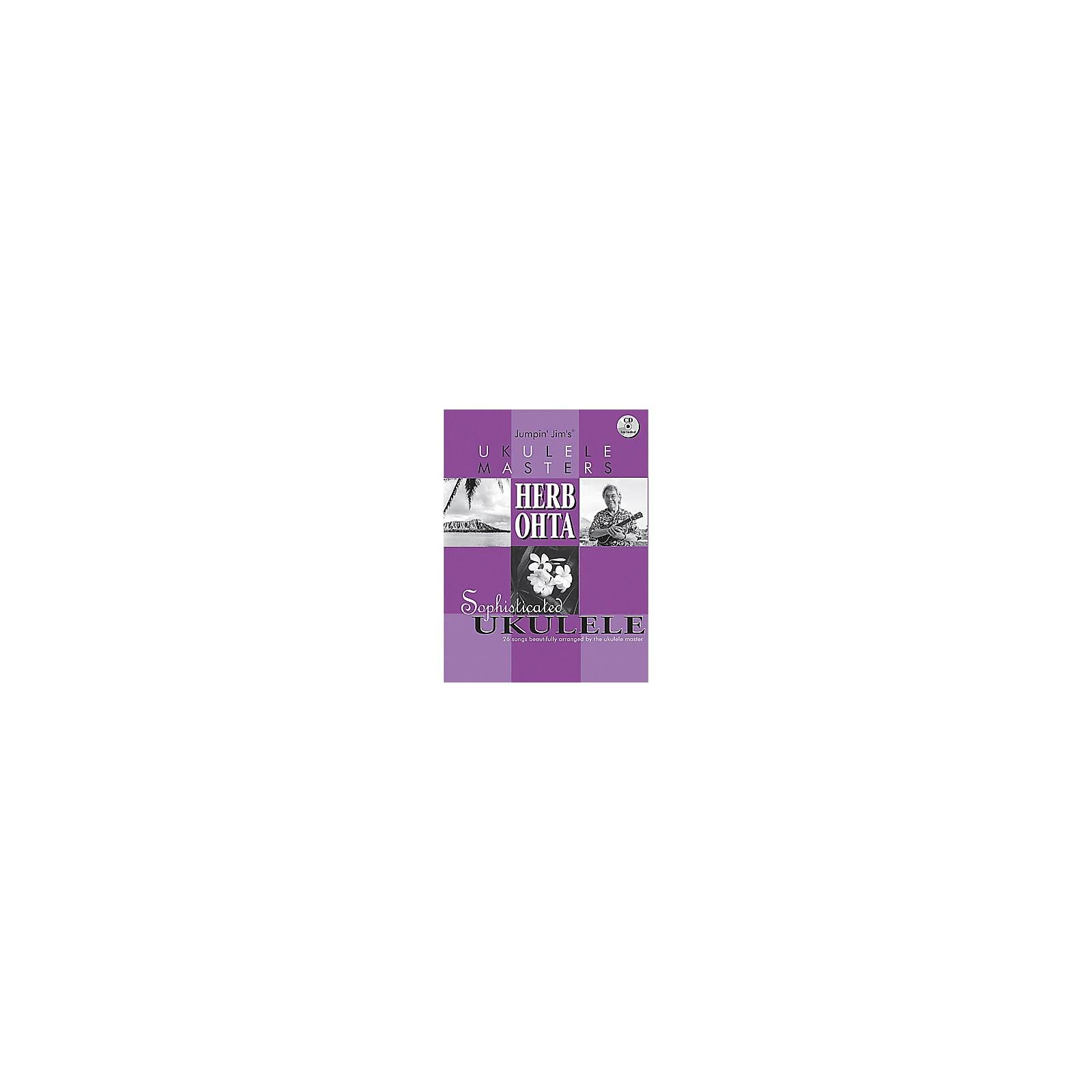 Flea Market Music Jumpin Jim's Ukulele Masters: Herb Ohta (Book/CD)