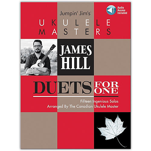 Hal Leonard Jumpin' Jim's Ukulele Masters: James Hill - Duets For One Book/Audio Online