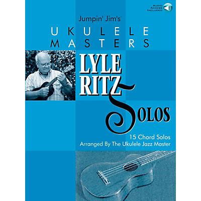 Flea Market Music Jumpin' Jim's Ukulele Masters: Lyle Ritz Solos (Book/CD)