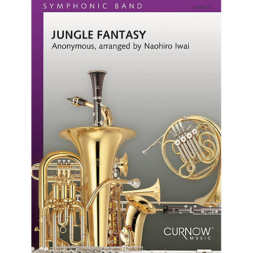 Curnow Music Jungle Fantasy (Grade 5 - Score Only) Concert Band Level 5 Composed by Naohiro Iwai