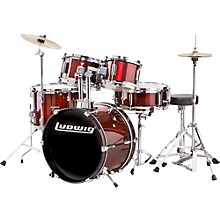 Junior Outfit Drum Set Wine Red