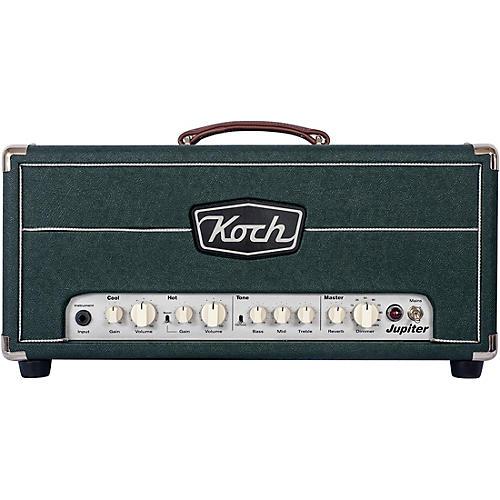 koch jupiter 45 45w tube hybrid guitar amp head british racing green musician 39 s friend. Black Bedroom Furniture Sets. Home Design Ideas