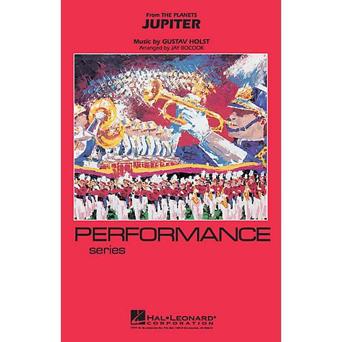 Hal Leonard Jupiter Marching Band Level 3-4 Arranged by Jay Bocook