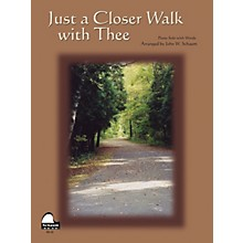 SCHAUM Just A Closer Walk With Thee Educational Piano Series Softcover