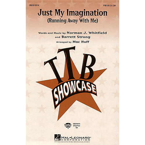 Hal Leonard Just My Imagination (Running Away with Me) ShowTrax CD by The Temptations Arranged by Mac Huff