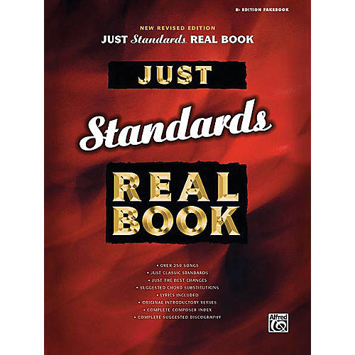 Hal Leonard Just Standards Real Book (B-flat Edition) Fake Book Series Softcover