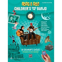 Alfred Just for Fun Children's Songs for Banjo Easy Banjo TAB Book
