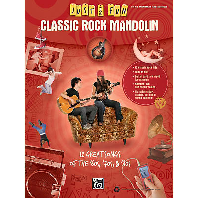Alfred Just for Fun: Classic Rock Mandolin (Book)