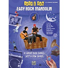 Alfred Just for Fun: Easy Rock Mandolin (Book)