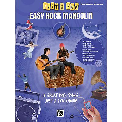 Alfred Just for Fun: Easy Rock Mandolin (Book)
