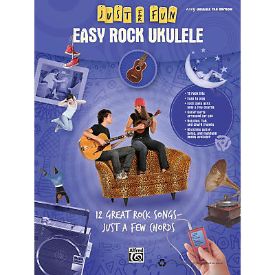 Alfred Just for Fun: Easy Rock Ukulele (Book)