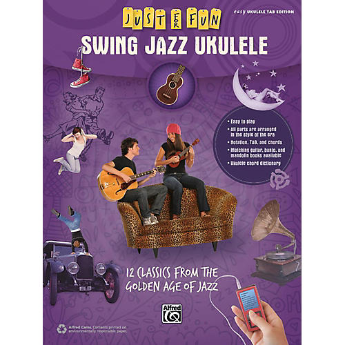 Alfred Just for Fun Swing Jazz Ukulele Book