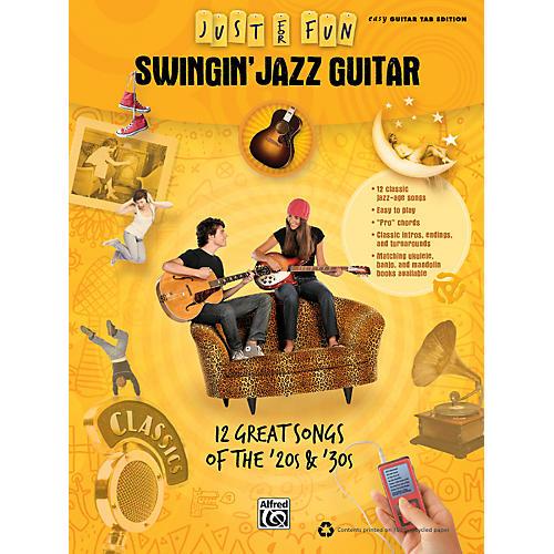 Alfred Just for Fun: Swingin' Jazz Guitar (Book)